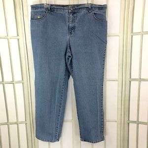 Gloria Vanderbilt Stretch Cropped Jeans